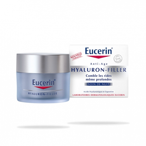 eucerin hyaluron filler night