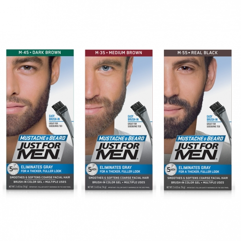 JUST FOR MEN BEARD AND MOUSTACHE COLOUR - Easyparapharmacie 3015a4c80f03f