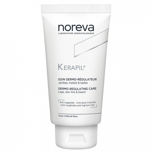 NOREVA KERAPIL DERMO-REGULATING CARE LEGS-BIKINI LINE-BEARD 75ML