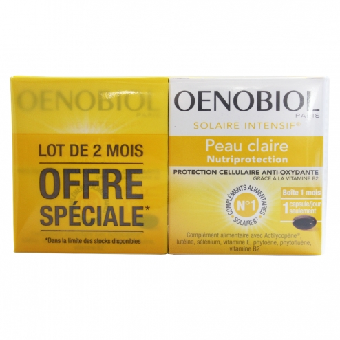 Oenobiol solaire intensive nutri protection clear skins - Balance cuisine solaire ...