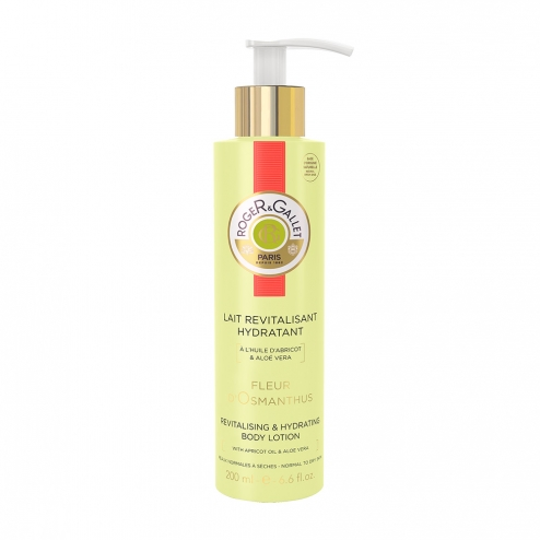 Roger Gallet Revitalising And Hydrating Body Lotion Osmanthus Flower