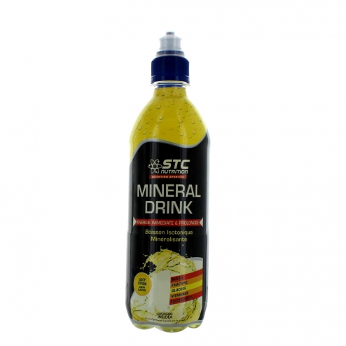 STC NUTRITION MINERAL DRINK 500 ML-CITRON