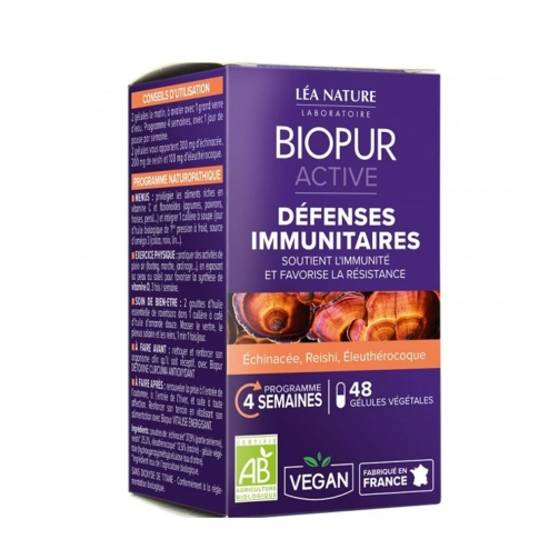 DEFENSES IMMUNITAIRES BIO 48 GELULES ACTIVE BIOPUR