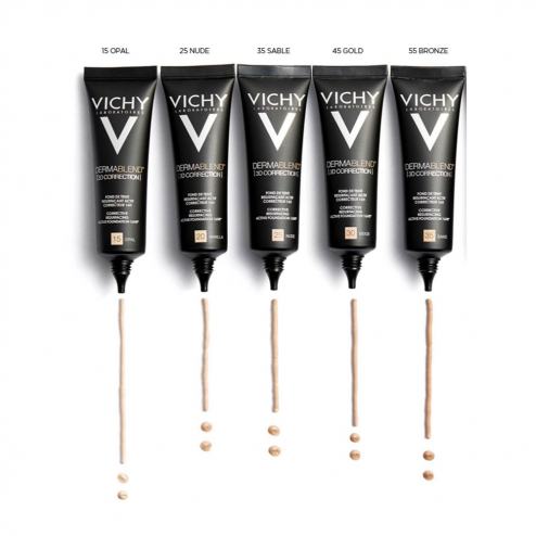 3d Foundation 30 Ml Dermablend Vichy Easyparapharmacie