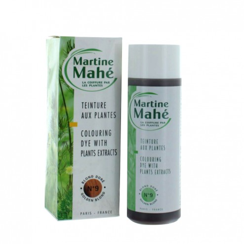 martine mahe teinture aux plantes 125 ml - Coloration Martine Mah