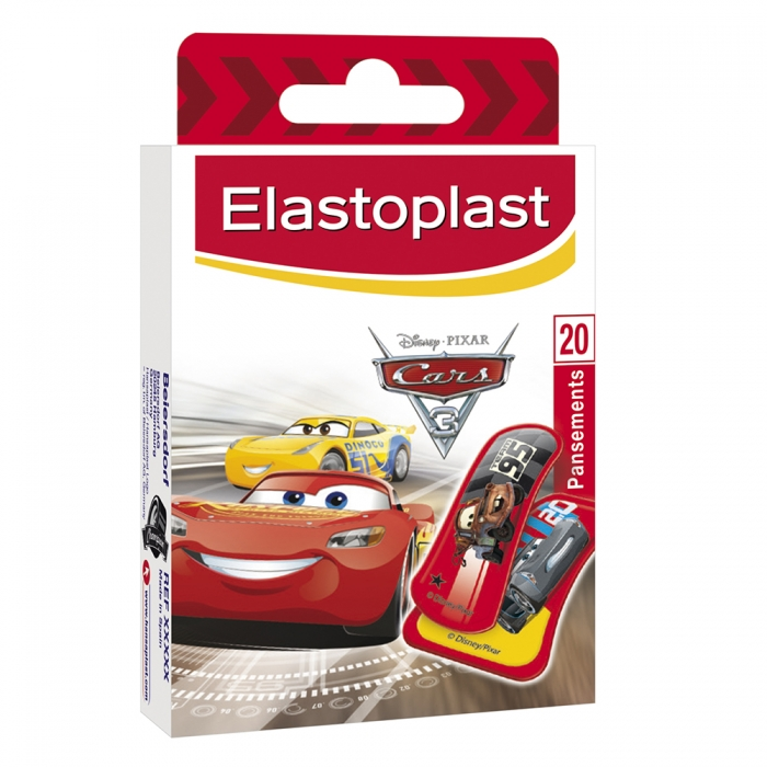 ELASTOPLAST KIDS PANSEMENTS CARS x16