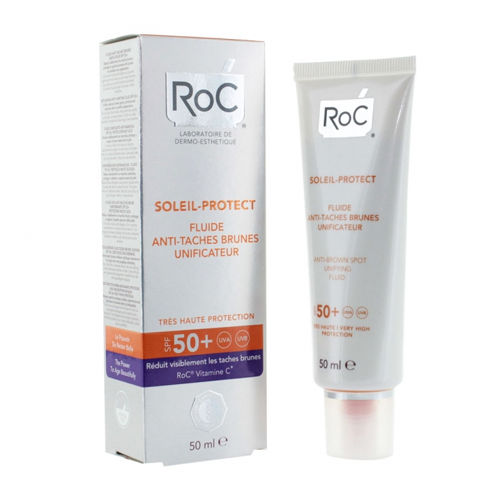 ROC SOLEIL PROTECT ANTI BROWN SPOT UNIFYING FLUID SPF50+ 50ML