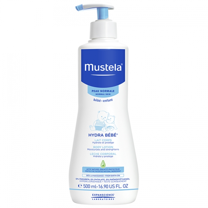 mustela lait hydratant corps