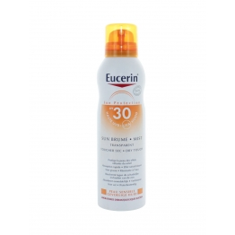 EUCERIN SUN PROTECTION BRUME TRANSPARENTE SPF30 PEAUX SENSIBLES 200ML