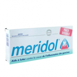 MERIDOL DENTIFRICE LOT X2 75 ML