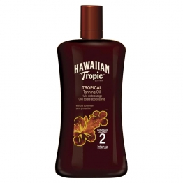 HAWAIIAN TROPIC HUILE INTENSE SPF2 200ML