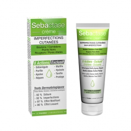 3C PHARMA SEBACTASE CREME IMPERFECTIONS CUTANEES 50ML