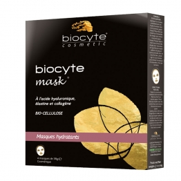 BIOCYTE MASK MASQUE HYDRATANT X4