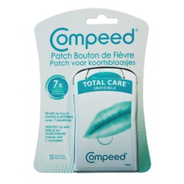 COMPEED 15 PATCH INVISIBLE BOUTONS DE FIEVRE
