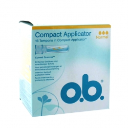 OB - TAMPONS AVEC APPLICATEUR NORMAL- BOITE DE 16
