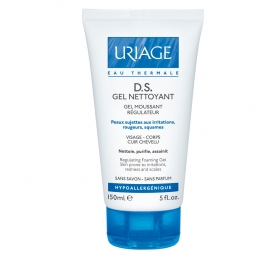 URIAGE D.S.GEL NETTOYANT REGULATEUR 150ML