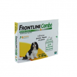 FRONTLINE COMBO SPOT-ON S CHIEN 2-10 KG 4 PIPETTES
