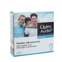 QUIES AUDIO 20 PASTILLES EFFERVESSENTES