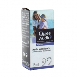 QUIES AUDIO HUILE LUBRIFIANTE 15 ML