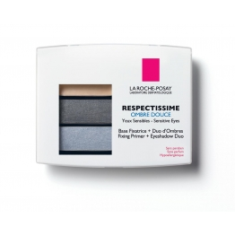LA ROCHE-POSAY RESPECTISSIME YEUX OMBRE DOUCE 01 SMOKY GRIS