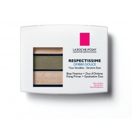 LA ROCHE-POSAY RESPECTISSIME YEUX OMBRE DOUCE 03 SMOKY VERT