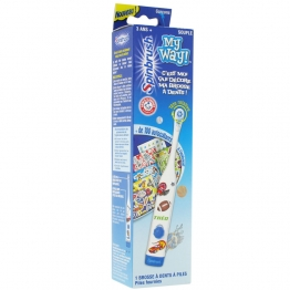 SPINBRUSH BATTERY-POWERED ELECTRIC TOOTHBRUSH