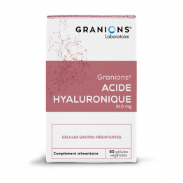 GRANIONS ACIDE HYALURONIQUE 200MG 60 GELULES