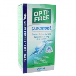 ALCON OPTI FREE PURE MOIST SOLUTION MULTI-FONCTIONS DE DECONTAMINATION 90ML