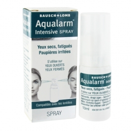 AQUALARM INTENSIVE SPRAY YEUX SECS FATIGUES PAUPIERES IRRITEES 10ML