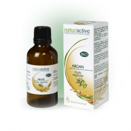 NATURACTIVE HUILE VEGETALE ARGAN 50 ML