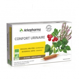 ARKOPHARMA ARKOFLUIDE CONFORT URINAIRE 20 AMPOULES