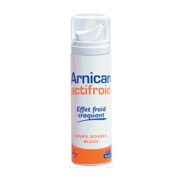 ARNICAN ACTIFROID SPRAY FROID EFFET CRAQUANT COUPS BOSSES ET BLEUS 50ML