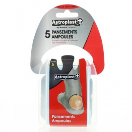 ASTRODIF ASTROPLAST PANSEMENTS AMPOULES TAILLE MOYENNE X5