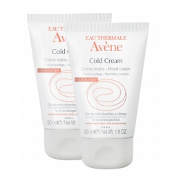 AVENE COLD CREAM CREME MAINS 2 X 50ML