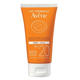 AVENE SOLAIRE PROTECTION MODEREE CREME PEAUX SENSIBLES SPF20 50ML