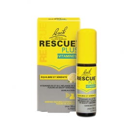 BACH RESCUE PLUS VITAMINES EQUILIBRE ET SERENITE SPRAY 20ML