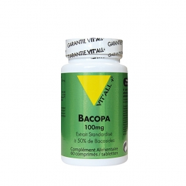 VIT'ALL+ BACOPA 100MG 60CP