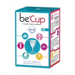 BE'CUP COUPE MENSTRUELLE TAILLE 2 X1 UNITE
