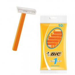 BIC 1 SENSITIVE RASOIRS JETABLES 1 LAME  X10