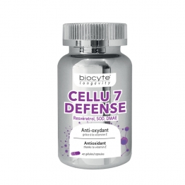BIOCYTE CELLU 7 DEFENSE 40 GELULES