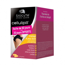 BIOCYTE CELLULIPILL 3X60 GELULES