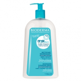 BIODERMA ABCDERM COLD-CREAM CLEANSING CREAM BABIES CHILDREN 1L