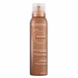 BIODERMA PHOTODERM MOISTURISING TANNING SPRAY  DRY TOUCH  SENSITIVE SKINS 150ML
