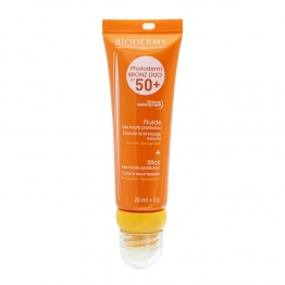 BIODERMA PHOTODERM BRONZ DUO FLUIDE + STICK TRES HAUTE PROTECTION SPF50+ 20ML + 2G