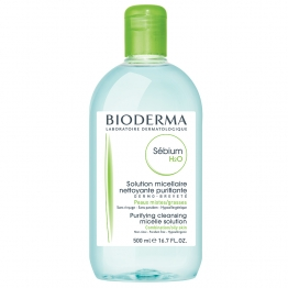 BIODERMA SEBIUM H2O SOLUTION MICELLAIRE 500ML