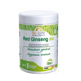 BIOLIFE BE LIFE RED GINSENG 500 BIO 45 GELULES