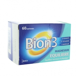 BION EQUILIBRE MG++ HAUTEMENT ABSORBE 30 COMPRIMES
