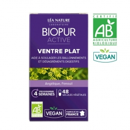 BIOPUR ACTIVE FLAT BELLY X 48 VEGETABLE CAPSULES