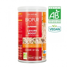 BIOPUR VITALISE SUPERMIX LEVURE BOOST GRAINES GERMEES BIO 120G