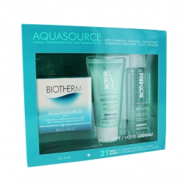 BIOTHERM COFFRET AQUASOURCE GEL